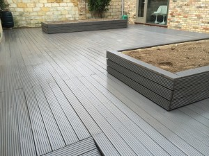 Beautiful raised decking